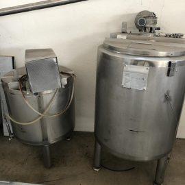 Tank per stoccaggio farine